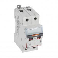 Выключатель автоматический двухполюсный DX3 20А Z 25кА | 409914 | Legrand