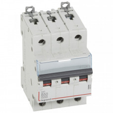 Выключатель автоматический трехполюсный DX3 10000 3А B 16кА | 408986 | Legrand