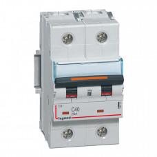 Выключатель автоматический двухполюсный DX3 40А C 25кА (3 мод) | 409772 | Legrand