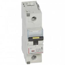 Выключатель автоматический однополюсный DX3 10000 125А C 16кА (1,5 мод)   409142   Legrand
