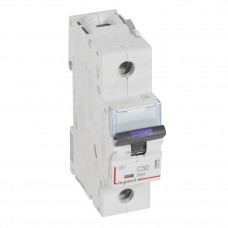 Выключатель автоматический однополюсный DX3 50А C 50кА (1,5 мод) | 410140 | Legrand