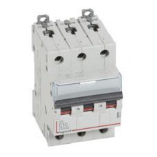 Выключатель автоматический трехполюсный DX3 10000 10А C 16кА   409252   Legrand