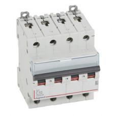 Выключатель автоматический четырехполюсный DX3 6000 10А C 10кА | 407926 | Legrand