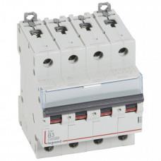 Выключатель автоматический четырехполюсный DX3 10000 3А B 16кА | 409060 | Legrand