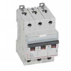Выключатель автоматический трехполюсный DX3 6000 63А B 10кА   407567   Legrand