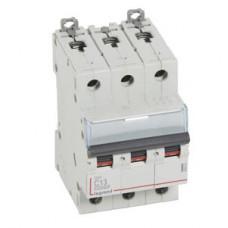 Выключатель автоматический трехполюсный DX3 10000 13А C 16кА   409253   Legrand