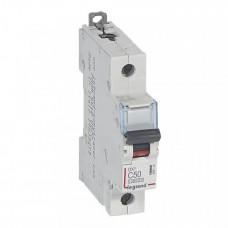 Выключатель автоматический однополюсный DX3 10000 50А C 16кА   409119   Legrand