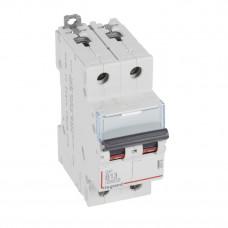 Выключатель автоматический двухполюсный DX3 6000 13А B 10кА   407508   Legrand