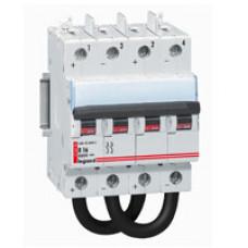 Выключатель автоматический двухполюсный DX3 DC 20А B 4,5кА (4 мод) | 414429 | Legrand