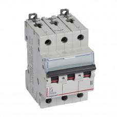 Выключатель автоматический трехполюсный DX3 10000 4А C 16кА   409250   Legrand