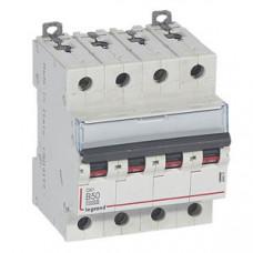Выключатель автоматический четырехполюсный DX3 10000 50А B 16кА | 409070 | Legrand