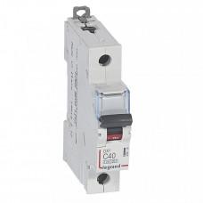 Выключатель автоматический однополюсный DX3 10000 40А C 16кА   409118   Legrand