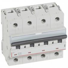 Выключатель автоматический двухполюсный DX3 DC 10А B 1,5кА (6 мод) | 414446 | Legrand