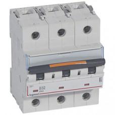 Выключатель автоматический трехполюсный DX3 32А B 25кА (4,5 мод)   409732   Legrand