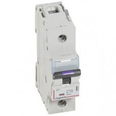 Выключатель автоматический однополюсный DX3 10А C 50кА (1,5 мод) | 410134 | Legrand