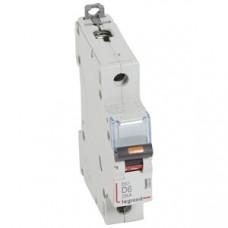 Выключатель автоматический однополюсный DX3 6А D 25кА | 409805 | Legrand