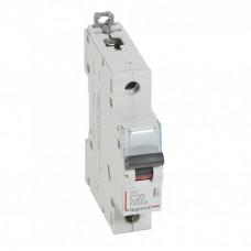 Выключатель автоматический однополюсный DX3 10000 20А C 16кА   409115   Legrand