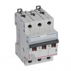 Выключатель автоматический трехполюсный DX3 6000 13А B 10кА   407560   Legrand