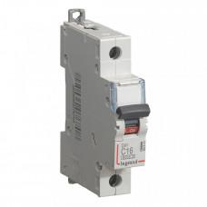 Выключатель автоматический однополюсный DX3 6000 16А C 10кА | 407670 | Legrand
