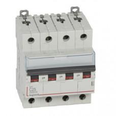 Выключатель автоматический четырехполюсный DX3 6000 25А C 10кА | 407930 | Legrand