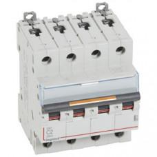 Выключатель автоматический четырехполюсный DX3 2А C 25кА | 409791 | Legrand