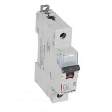 Выключатель автоматический однополюсный DX3-E 6000 10А B 6кА   407205   Legrand