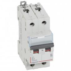 Выключатель автоматический двухполюсный DX3 10000 3А B 16кА | 408937 | Legrand