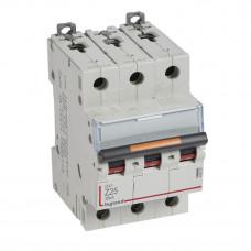 Выключатель автоматический трехполюсный DX3 25А Z 25кА | 409926 | Legrand
