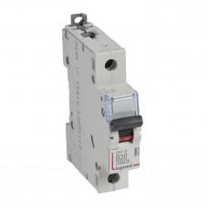 Выключатель автоматический однополюсный DX3-E 6000 20А B 6кА   407208   Legrand