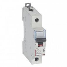 Выключатель автоматический однополюсный DX3 10000 13А C 16кА   409113   Legrand