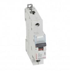 Выключатель автоматический однополюсный DX3 6000 63А D 10кА | 407977 | Legrand