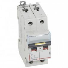 Выключатель автоматический двухполюсный DX3 DC 10000 10А C 16кА | 409567 | Legrand