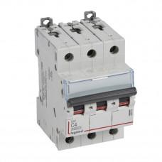 Выключатель автоматический трехполюсный DX3 6000 4А C 10кА | 407854 | Legrand