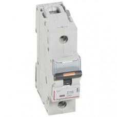 Выключатель автоматический однополюсный DX3 16А D 25кА (1,5 мод) | 409807 | Legrand