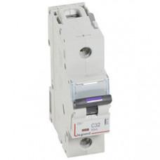 Выключатель автоматический однополюсный DX3 32А C 50кА (1,5 мод) | 410138 | Legrand
