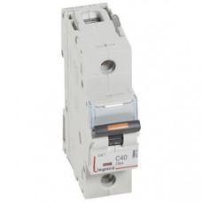 Выключатель автоматический однополюсный DX3 40А C 25кА (1,5 мод) | 409759 | Legrand