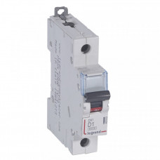 Выключатель автоматический однополюсный DX3 6000 1А D 10кА | 407963 | Legrand