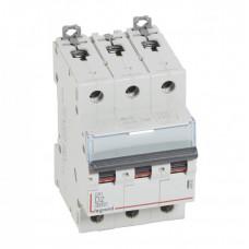 Выключатель автоматический трехполюсный DX3 6000 2А D 10кА | 408082 | Legrand