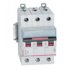 Выключатель автоматический трехполюсный DX3 16А Z 25кА | 409924 | Legrand