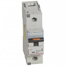 Выключатель автоматический однополюсный DX3 100А D 25кА (1,5 мод) | 409815 | Legrand