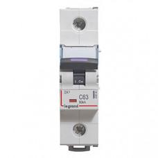 Выключатель автоматический однополюсный DX3 63А C 50кА (1,5 мод) | 410141 | Legrand
