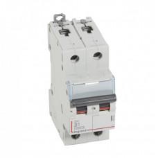Выключатель автоматический двухполюсный DX3 6000 1А B 10кА   407502   Legrand