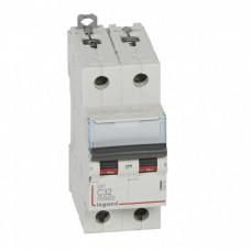 Выключатель автоматический двухполюсный DX3 10000 32А C 16кА   409205   Legrand