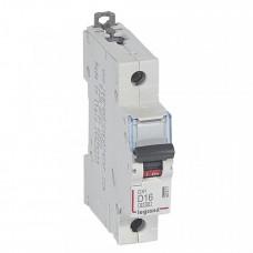 Выключатель автоматический однополюсный DX3 6000 16А D 10кА | 407971 | Legrand