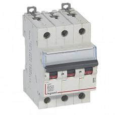 Выключатель автоматический трехполюсный DX3 6000 50А B 10кА   407566   Legrand