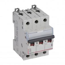 Выключатель автоматический трехполюсный DX3 6А Z 25кА | 409922 | Legrand