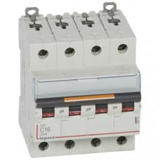 Выключатель автоматический четырехполюсный DX3 16А C 25кА | 409794 | Legrand