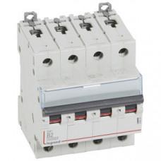 Выключатель автоматический четырехполюсный DX3 10000 2А B 16кА | 409059 | Legrand