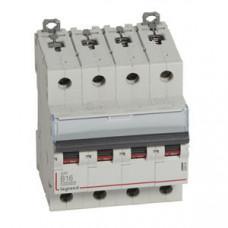 Выключатель автоматический четырехполюсный DX3 10000 16А B 16кА | 409065 | Legrand