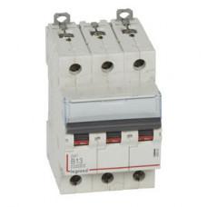 Выключатель автоматический трехполюсный DX3 10000 13А B 16кА | 408990 | Legrand